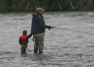 Father and son angling | Peter Westley