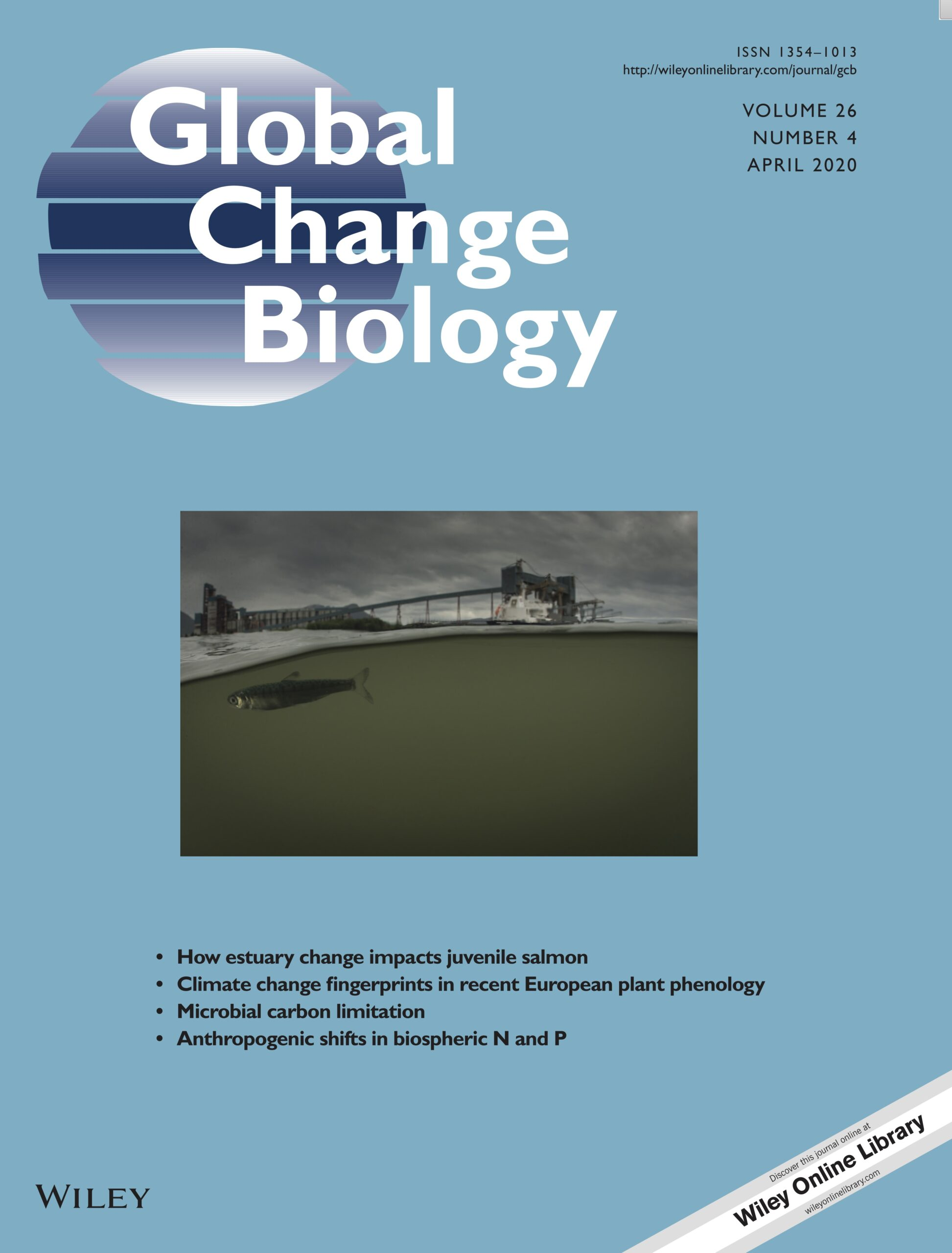 Hodgson et al. 2020: Changing estuaries and impacts on juvenile salmon: a systematic review